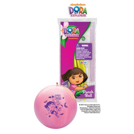Party Supplies - Pioneer Punch Balls Balloons 1 ct/Each Dora The Explorer - Dora Party Supplies