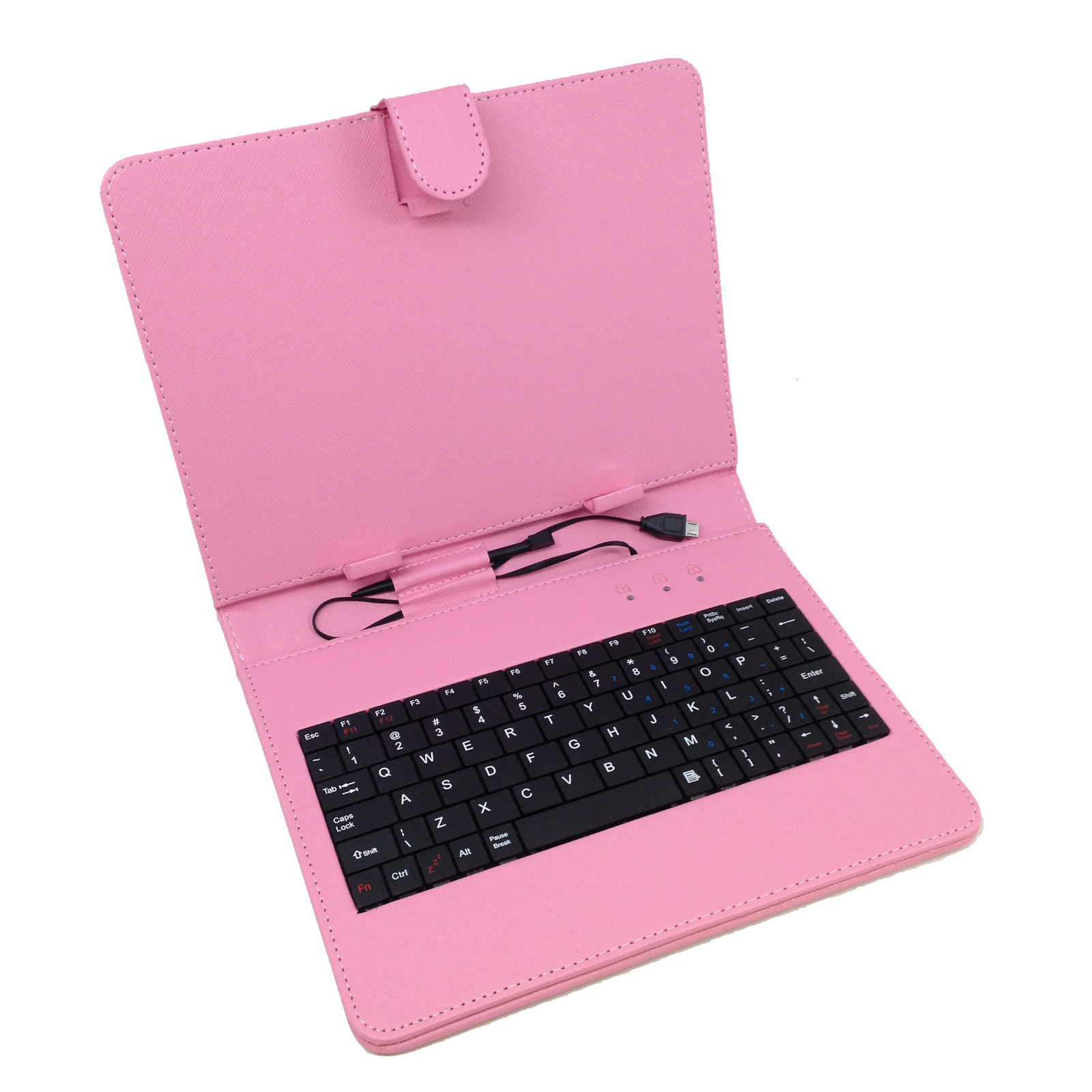 """10"""" Keyboard Folio-Pink"""
