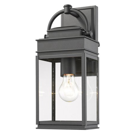 ArtCraft AC82 Fulton 1 Light Outdoor Wall Lantern Light up your outdoor transitional living space with the ArtCraft AC82 Fulton 1 Light Outdoor Wall Lantern. The rust-resistant metal lantern is equipped with one downlight placed behind clear glass panels. Artcraft Since 1955, Artcraft Lighting has operated on the belief that beautiful lighting should be as much about the experience as the light fixtures themselves. And to create that meaningful experience, Artcraft Lighting strives to provide lighting products that are designed to meet your decor, lifestyle, and budget needs - all while ensuring top quality and impeccable customer service. With Artcraft Lighting products, you can reap the benefits of more than 60 years of lighting experience.