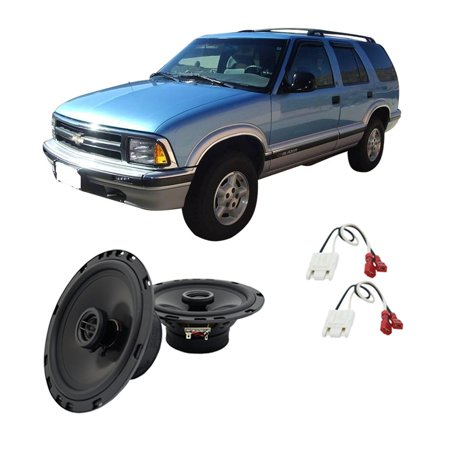 Fits Chevy S-10 Blazer 1995-1997 Rear Door Replacement Harmony HA-R65 New