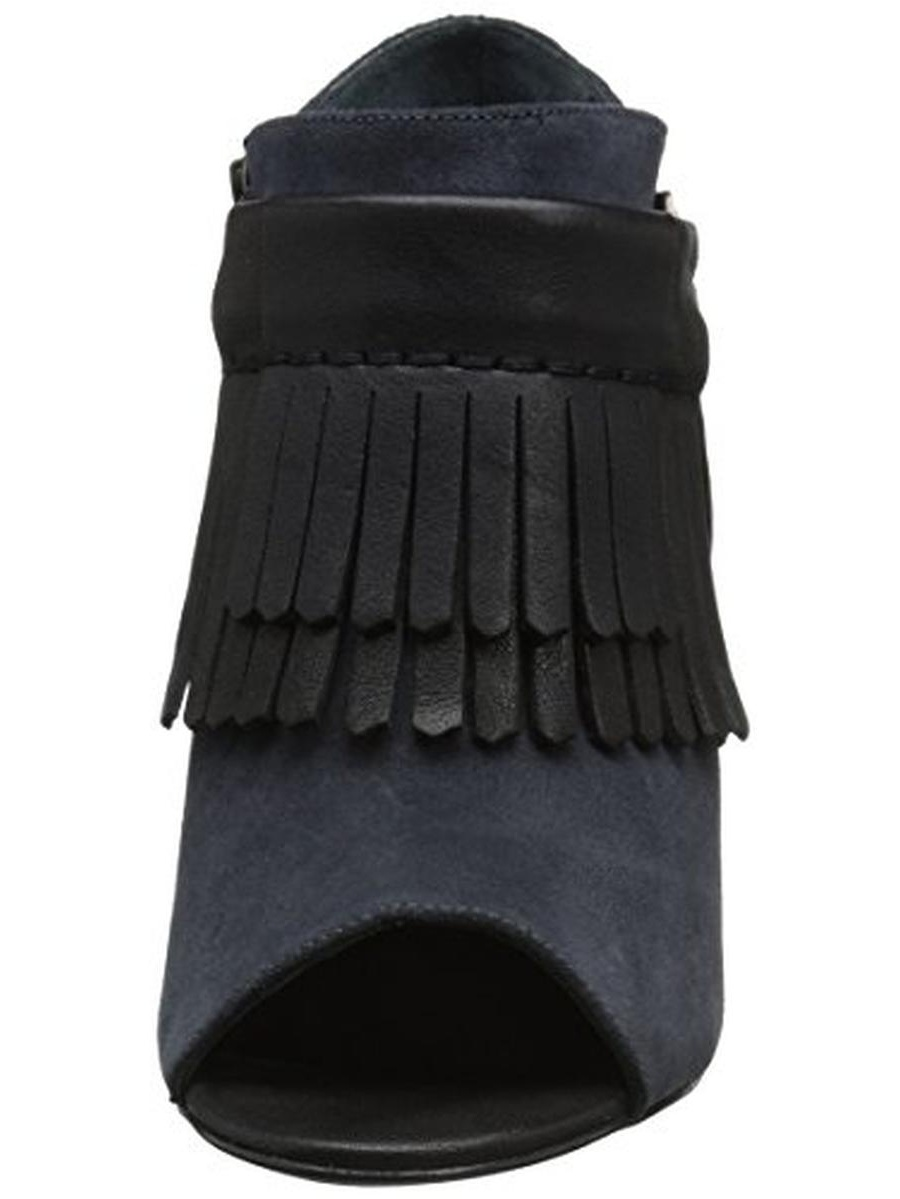 Delman Washed Women's D-Dean-SV Dress Pump, Deep Blue Country Suede/Black Washed Delman Vachetta, 10 M US 40dceb