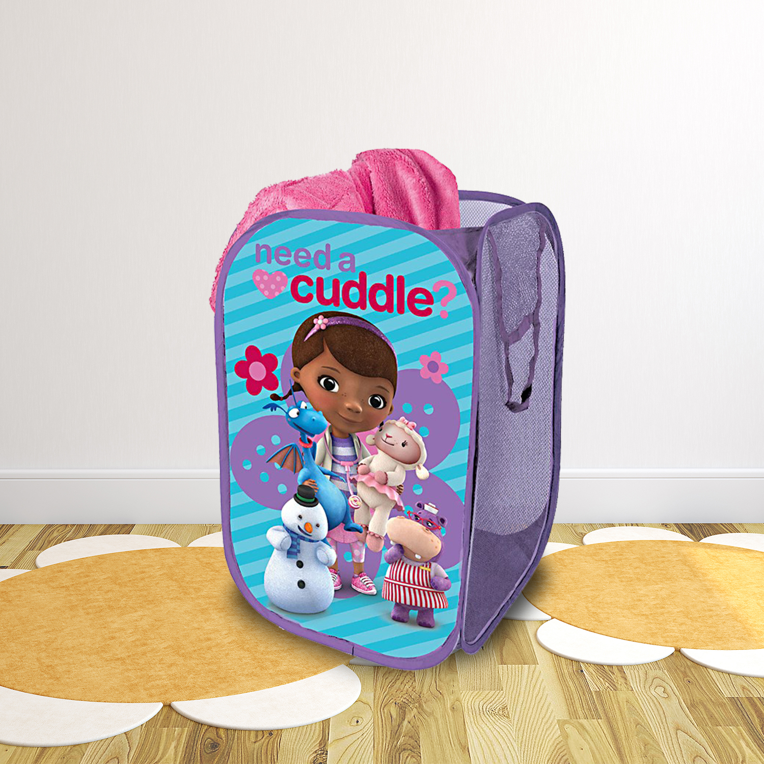 DISNEY SOFIA THE FIRST FULL-SIZE BACKPACK WITH LED SUPER LIGHTS NWT