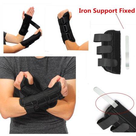 Breathable Wrist Brace Support Carpal Tunnel Sports Sprain Forearm Splint Band (Wrist Splints Carpal Tunnel)