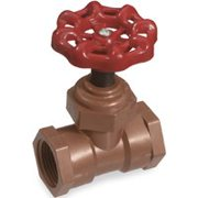 NDS SCL-0750-T Stop Valve, 3/4 in IPS, PVC