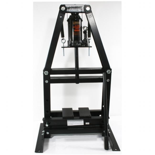 Buffalo Tools PRESSA12T Black Bull 12 Ton A-Frame Shop Press