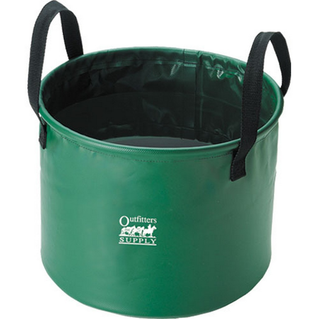 Outfitters Supply Trough Bucket Collapsible 6.5 Gallon Gr...