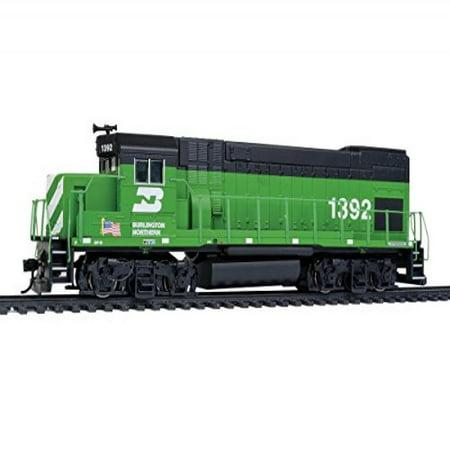 Walthers HO Scale EMD GP15 Diesel Locomotive Burlington Northern/BN #1392 (Halloween Store Burlington)