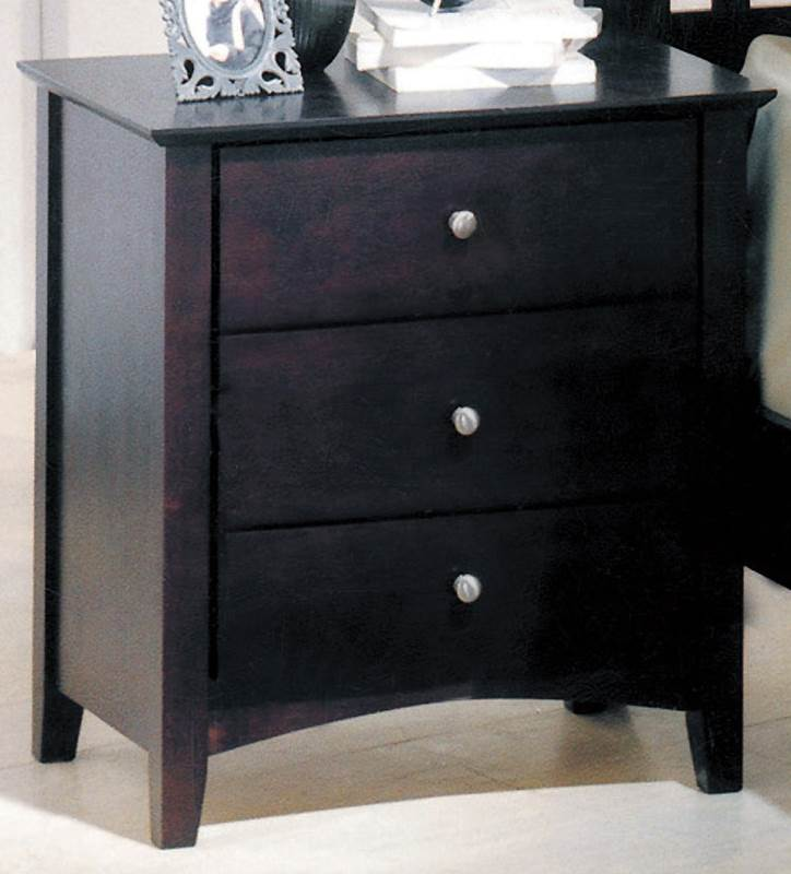 Nightstand in Espresso Finish