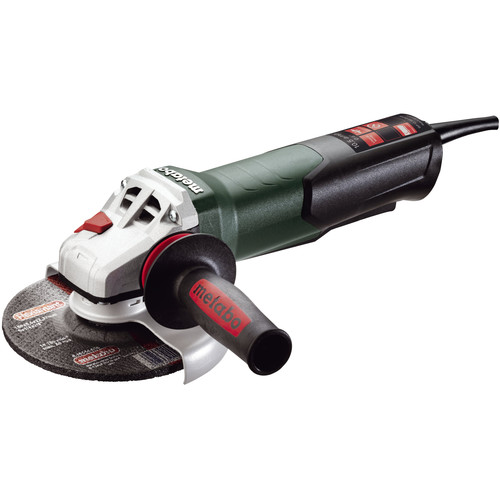 Metabo 600418420 10.5 Amp 6 in. Angle Grinder with Non-Locking Paddle Switch