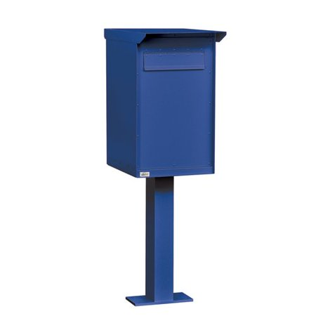 Salsbury Industries Aluminum 1 Unit Drop Box