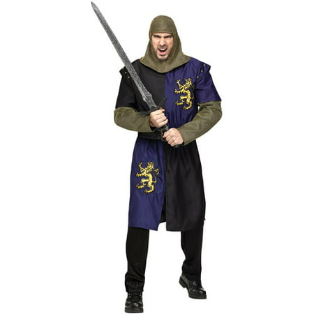 Renaissance Knight Adult Halloween Costume - Plus Size Renaissance Halloween Costumes