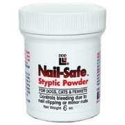 Nail Safe Styptic Powder 6 oz