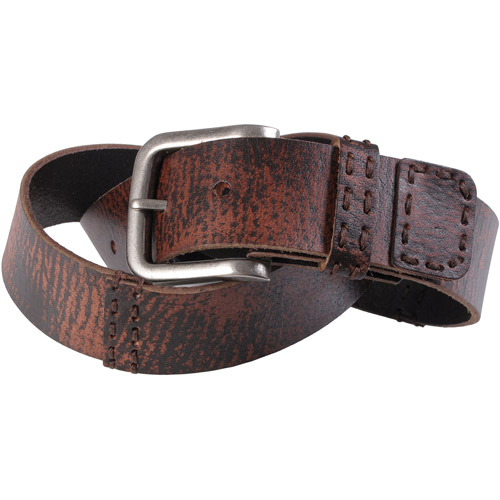 Brinley Co Womens Casual Distressed Belt