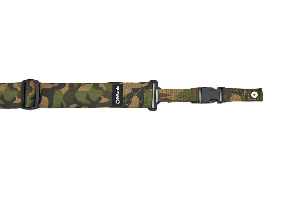 Cordura ClipLock DD2200 Camouflage, Dimensions: 2 W x 43 to 63 L By DiMarzio by