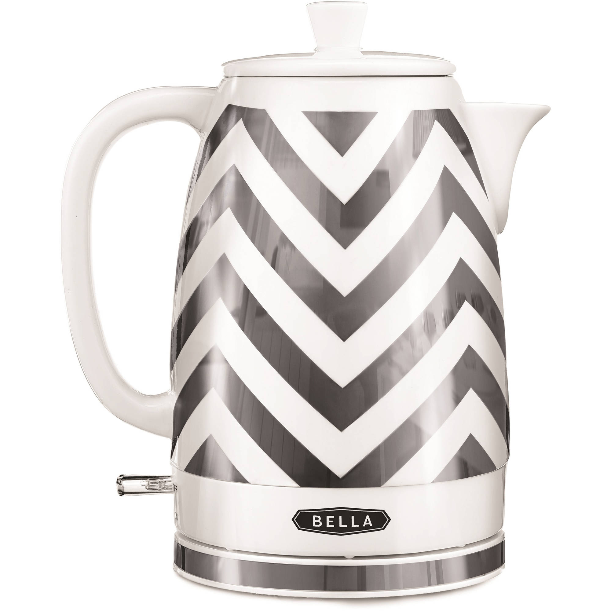 Bella 1.8-Liter Ceramic Kettle, Chevron Pattern by Sensio