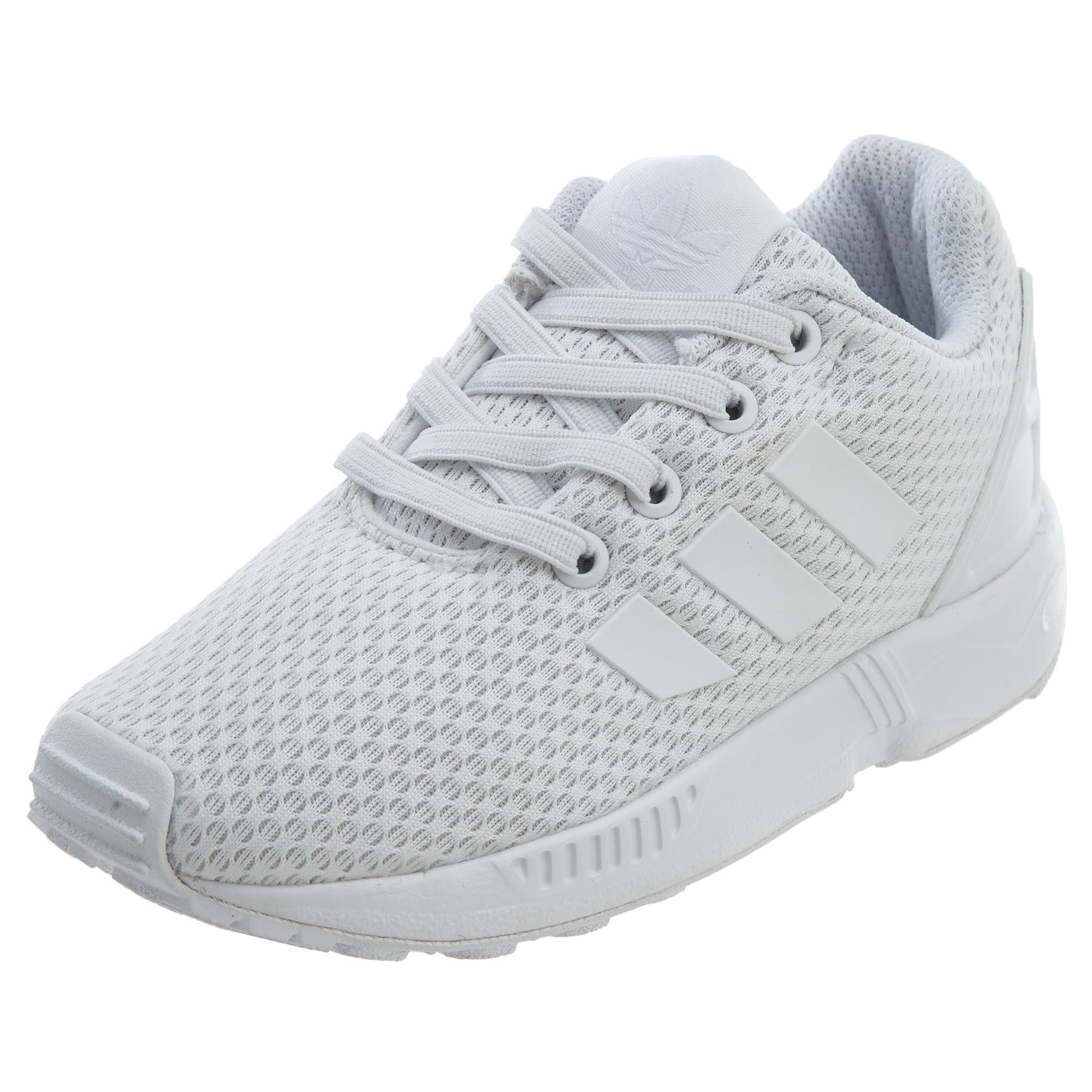 Adidas Zx Flux El I Scarpe Sneaker Bambino BB2434-CBLACK//CBLACK//FTWWHT