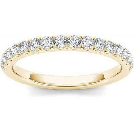 3/8 Carat T.W. Diamond 14kt Yellow Gold Wedding Band