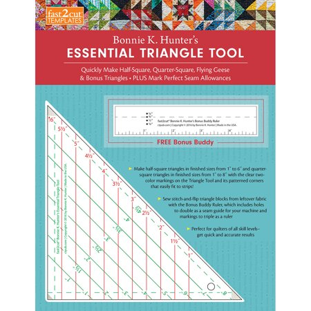 C&T Publishing Fast2cut Bonnie Hunter's Essential Triangle T- - image 1 of 1