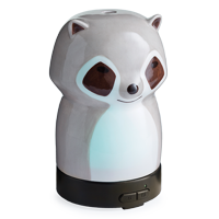 Airomé 100 mL Ultrasonic Essential Oil Diffuser for Kids, Racoon