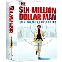 The Six Million Dollar Man: The Complete Series (DVD)