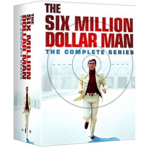 the six million dollar man the complete series dvd. Black Bedroom Furniture Sets. Home Design Ideas