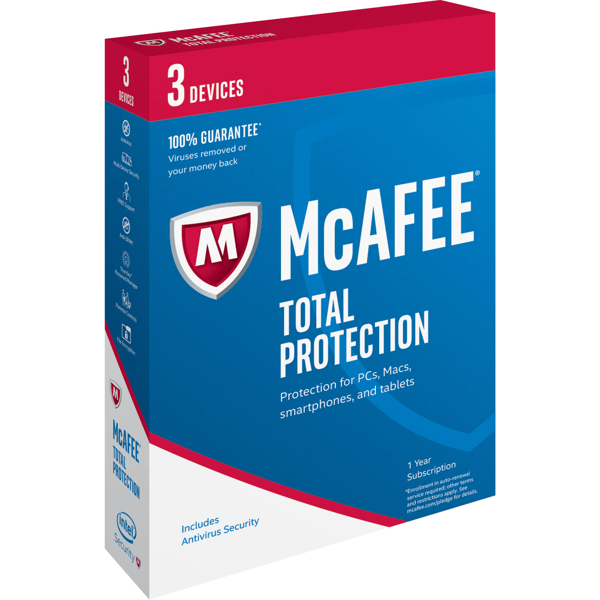 McAfee Total Protection 2016, 3 Devices