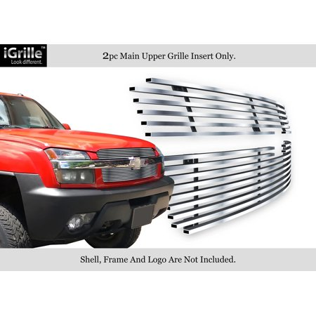 Fits 01-06 Chevy Avalanche Stainless Steel Billet Grille Insert #N19-C92356C