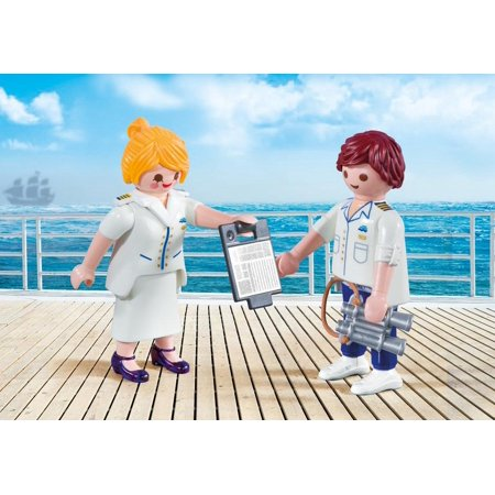 Saber Duo Pack (Playmobil Duo Pack #9216 Cruise Ship Officers - New Factory Sealed )