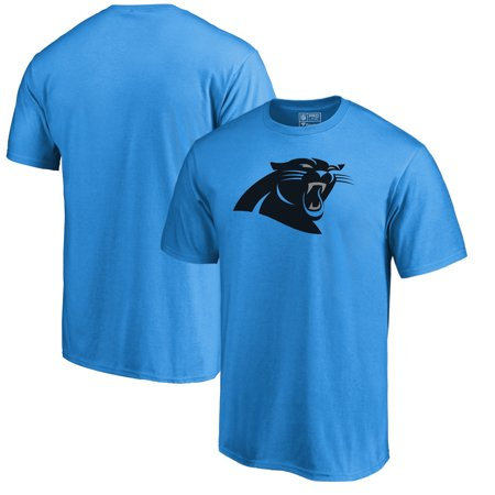 Carolina Panthers NFL Pro Line by Fanatics Branded Team Primary Logo T-Shirt - Blue - Carolina Panthers Funny