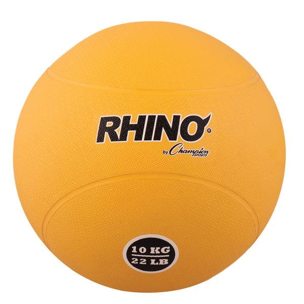 10kg Rubber Medicine Ball