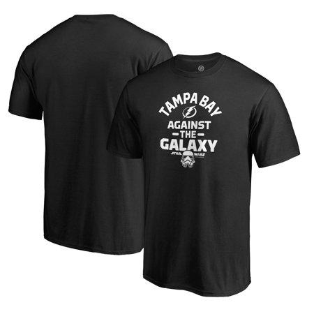 Tampa City Star (Tampa Bay Lightning Fanatics Branded Star Wars Against the Galaxy T-Shirt - Black)