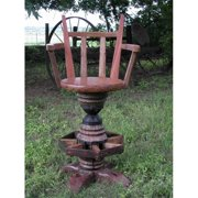 Groovy Stuff Furniture TF-0040-A Bar Stool Hub Chair