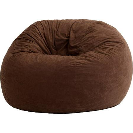 Large Comfort Suede Bean Bag Lounger