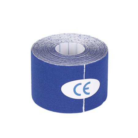 1 Roll 5Cm X 5M Kinesiology Sports Elastic Tape Muscle Pain Care Therapeutic Dark Blue