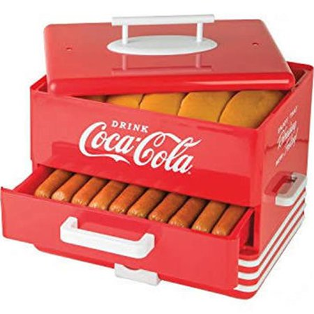 Nostalgia Coca-Cola Large Hot Dog Steamer, 1 Each - Hot Dog Wholesale Prices