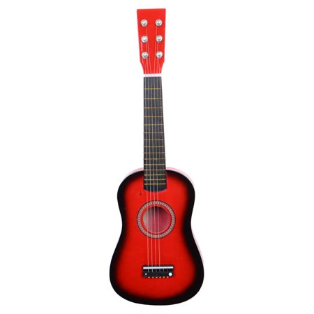 "Ktaxon 21"" 23"" 25"" 6-String Acoustic Guitar Beginer Musical Instrument w/ Guitar Pick, Extra Guitar String Children Kids Toy"