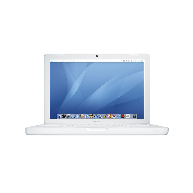 """Refurbished Apple MacBook Core 2 Duo P8600 2.4GHz OS X 2GB 250GB LED 13.3"""" Notebook Laptop"""
