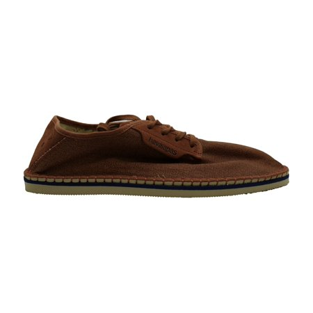 Havaianas Mens Alpargatas Fabric Low Top Lace Up Fashion Sneakers