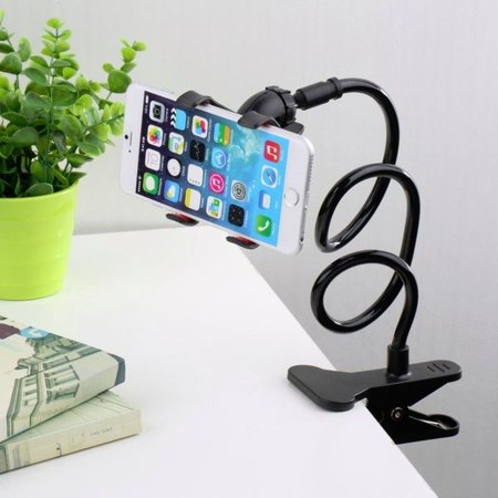Lazy Shelf Bedside Mobile Phone Holder Clip For Smart Stand Desk