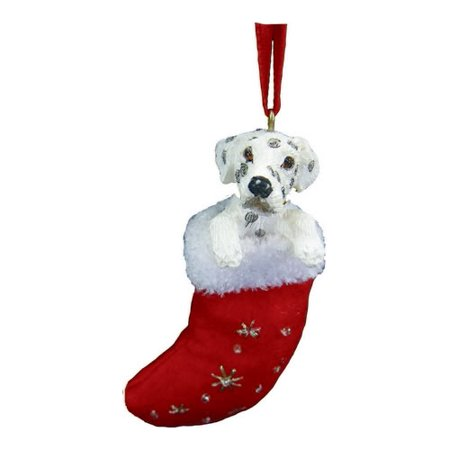 Little Stockings (Dalmatian Christmas Stocking Ornament with