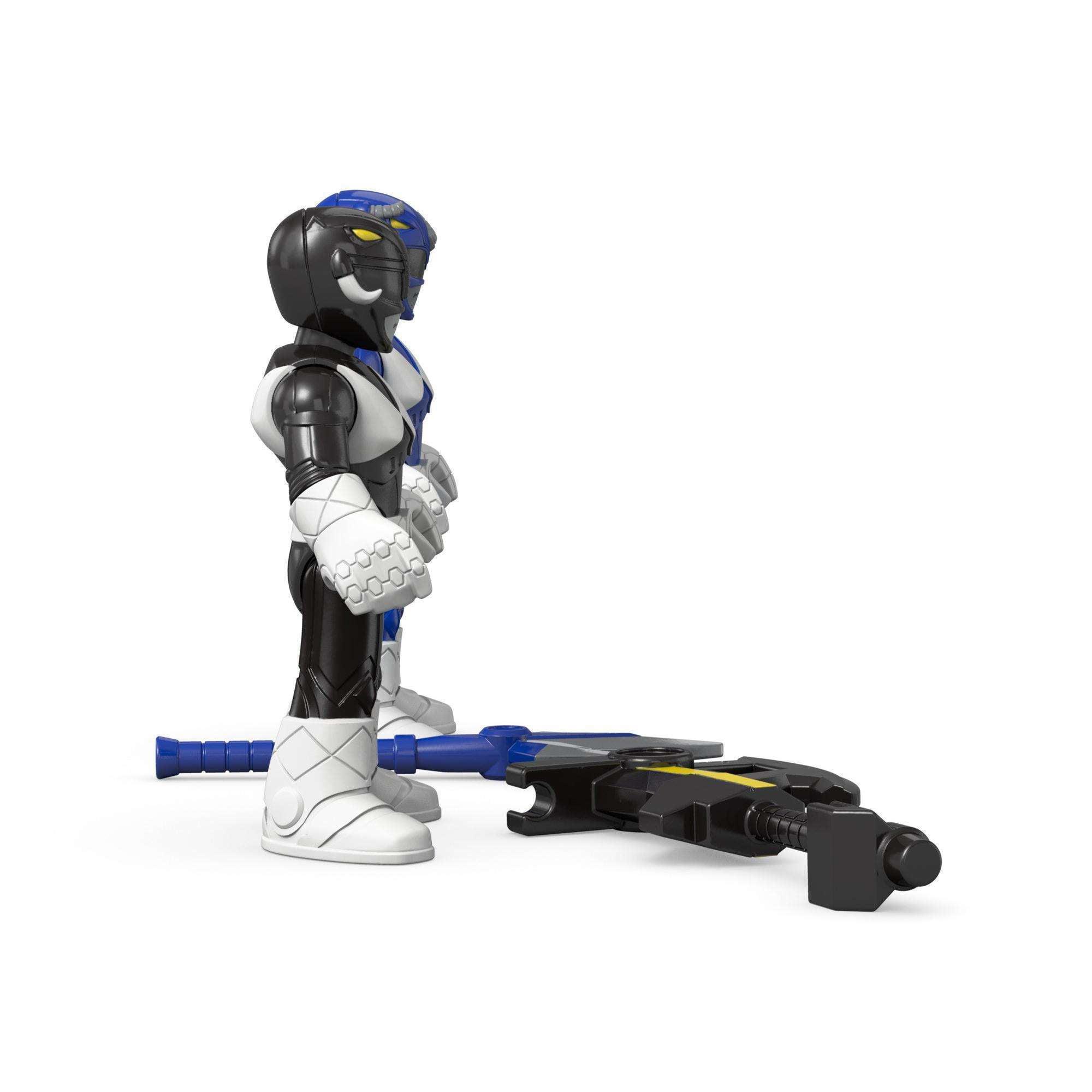 Fisher-Price Imaginext Power Rangers Blue Ranger /& Black