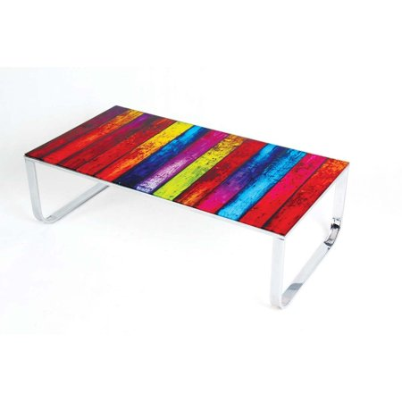 Best Master Furnitures Furniture Multicolor Gl Coffee Table