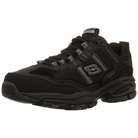 sold worldwide browse latest collections top-rated genuine 51241 EW Wide Width Black Skechers Shoes Men's Memory Foam Sport Comfort  Sneaker