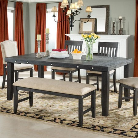 Home Inc Marseille Provence Extendable Dining Table