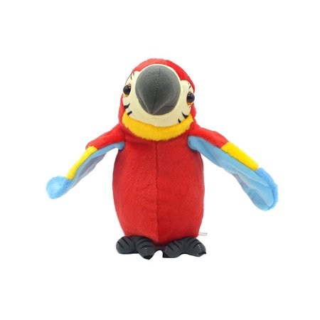 Children's Play Battery Operated Talking Parrot Toy ( Colors May Vary