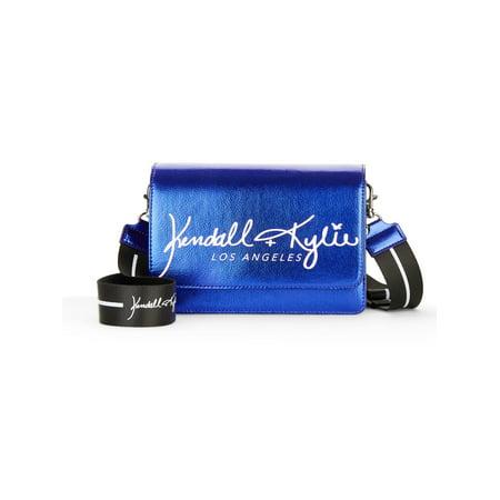 Kendall + Kylie for Walmart Cobalt Crossbody Bag