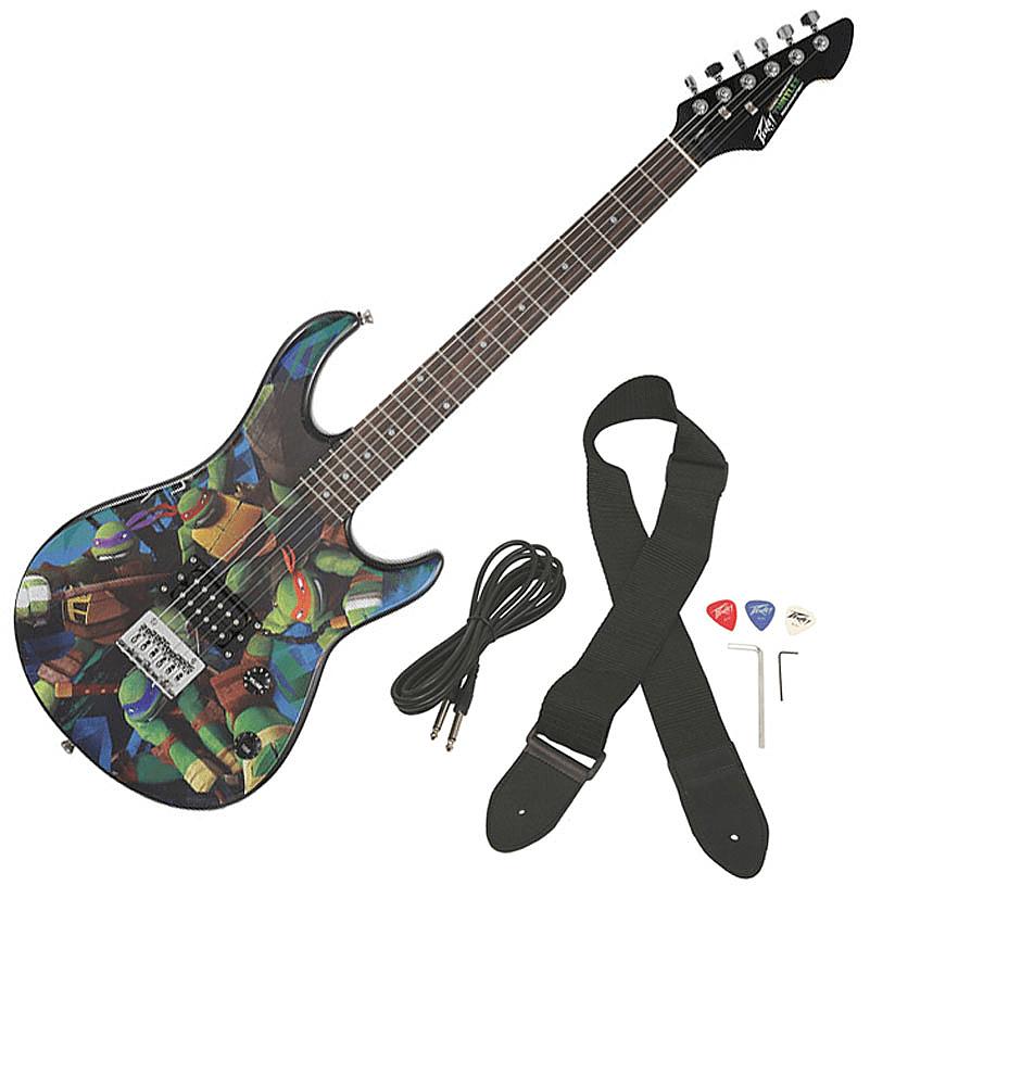 Peavey Teenage Mutant Ninja Turtles Full-Size Rockmaster Electric Guitar