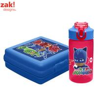 Deals on Zak! Designs PJ Masks Catboy Owlette & Gekko Kids Lunch Sets