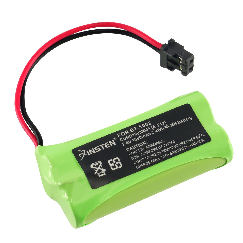 Insten for Uniden BT-1008 BT1008 Cordless phone Battery