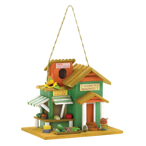 Zingz & Thingz Fruit Stand 8.5 in x 10 in x 7.5 in Birdhouse by Zingz & Thingz